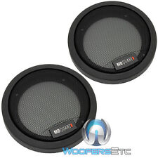 "MB QUART 4"" PROTECTIVE GRILLS FOR COMPONENT COAXIAL SPEAKERS MADE IN GERMANY NEW"