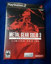 Metal Gear Solid 3: Subsistence (Limited Edition) (Sony PlayStation 2, 2006)