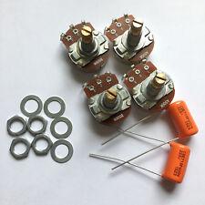 4X Guitar potentiometer 500K capacitance les paul guitar