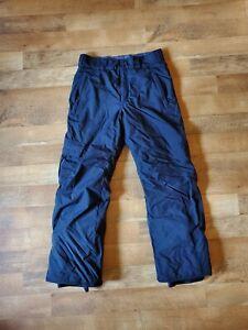 COLUMBIA men's size small ski snowboard snow pants black