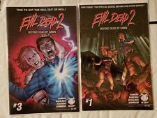 Evil Dead 2 Beyond Dead By Dawn #1 3 Nm Space Goat Comic