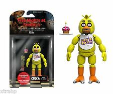 """New Authentic Five Nights At Freddy's Chica 5"""" Figure IN STOCK BAF Spring Trap"""