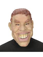 Latex Maske Tony Karneval lustiger Mann Fasching