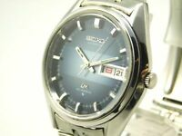 SEIKO LORD MATIC 5606-7290 AUTOMATIC DAY-DATE 23JEWELS MEN'S VINTAGE WATCH JAPAN