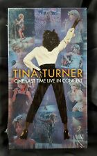 Tina Turner One Last Time Live In Concert 2000 VHS New Sealed In Plastic