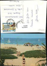649116,Club Mediterranee Korba Tunisie Tunesien Strand Strandleben