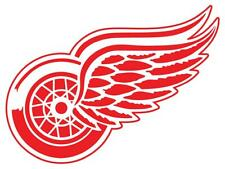 12 STICKERS DETROIT RED WINGS Hockey NHL Vinyl HQ Window WALL LAPTOP DECAL car