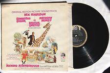 1967 Rex Harrision Doctor Dolittle Original Movie Soundtrack Gatefold LP