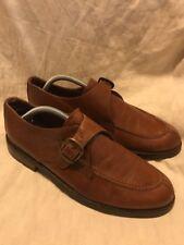Belvedere Florence Monk Strap Tan Mens  Shoes