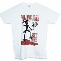 KILLING JOKE T SHIRT Bauhaus Cramps Meteors Punk Rock Tee SIZES S M L XL XXL