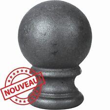 POMMEAU PERCE AVEC BOULE H 125 MM REF 05117 POUR PERGOLA, RAMPE, PORTAIL
