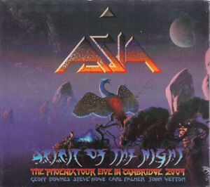 ASIA Spirit Of The Night Italy Press Frontiers FR CD 481 2010 CD Digipack NEW
