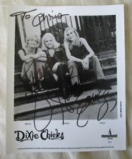 Dixie Chicks (3) Maines, Robison & Maguire Signed 8x10 Photo