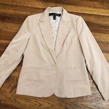 Apostrophe Size 12 Khaki Colored Blazer