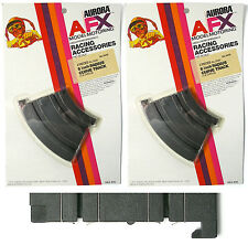 "4pc 1972 Aurora AFX Slot Car 1/8 6"" INSIDE CURVE TRACK Rare Card Speed-Lok #2440"