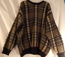 1980's Natural Issue Mens Totally 80s Pullover Cosby Style Sweater 2XL