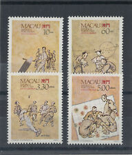 1989 Macau / Macao UM/M Traditional games set of stamps (SG 698/701)