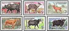 Timbres Animaux Khmère 310/5 ** lot 27668
