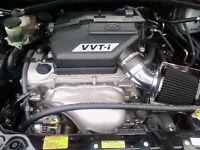 BCP BLACK 2000-2005 Toyota RAV4 2.0L 2.4L L4 Short Ram Intake Induction Kit