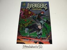 Avengers The Crossing #1 Comic Marvel Chromium Cover Bob Harras Kavanagh Deodato