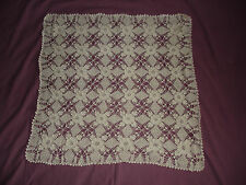 #412 Beautiful Vintage Handmade Tablecloth 78cm/78cm(31''/31'')