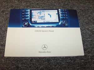 2004 Mercedes Benz S350 S430 S500 S-Class Comand Navigation System Owner Manual