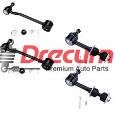 4Pcs Front & Rear Sway Bar Links 2000-2002 Dodge Ram 2500 3500 4WD