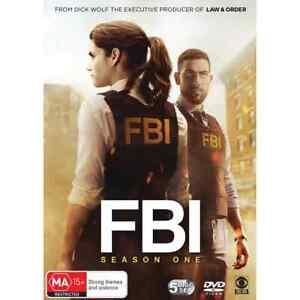 FBI - SEASON ONE (DVD, 5-Disc) BRAND NEW / SEALED - REGION 4