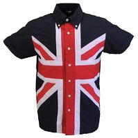Relco Mens Union Jack Shirt