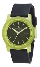 Rip Curl Men's Cambridge Silicone Watch Mens Wristwatch Green A26989369 Crystal Lime