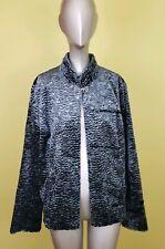 Koret Gray Size M womens Persian Lamb Faux Fur Coat Jacket