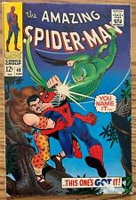 THE AMAZING SPIDER-MAN #49 (MARVEL,1967) KRAVEN AND VULTURE COVER AND APP! +