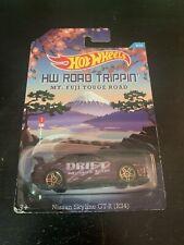 Hot Wheels Road Trippin Nissan Skyline GTR R34