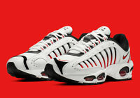 Nike Air Max Tailwind IV 4 Shoes White Black Habanero Red AQ2567-104 DOUBLE BOXD