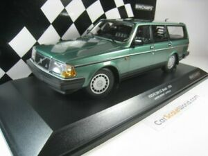VOLVO 240 GL BREAK 1986 1/18 MINICHAMPS (GREEN)