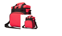 """Insulated lunch bag BPA free Thermal Polyester Food Grade bag 9.1""""x8.4""""x6.3"""""""