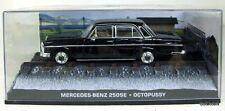Mercedes-Benz 250Se - Octopussy 1:43 James Bond Collection - Eaglemoss New !