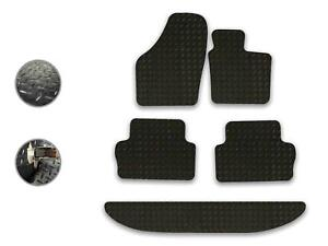 Seat Alhambra 2010-on Fully Tailored Deluxe Car Mats in Black
