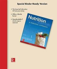 NUTRITION ESSENTIALS: A PERSONAL APPROACH-WENDY SCHIFF-LOOSE-LEAF *NEW/SEALED*