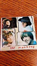 """The Monkees Small Square Button Pin 1.5""""X 1.5"""" Great Condition"""