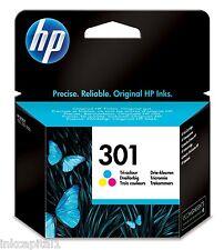 No 301 Colour Original OEM Inkjet Cartridge For HP 3050