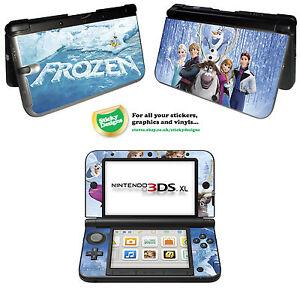 Disney Frozen Vinyl Skin Sticker for Nintendo 3DS XL