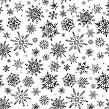 Snowflake Cover A Card Background Unmounted Rubber Stamp Impression Obsession Ne