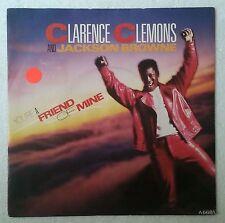 "Clarence Clemons You're A Friend Of Mine Single 7"" Inglaterra Jackson Browne"