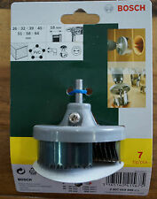 Bosch 7 Piece Holesaw Set 26 - 64mm Brand New for Wood and Plastic 18mm Deep