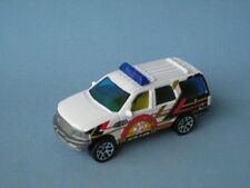 MATCHBOX FORD EXPEDITION METRO ALARM FIRE CHIEF BOXED