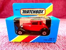MATCHBOX  1981  MB 73  FORD  MODEL  A   MADE  IN  MACAU  UNOPENED