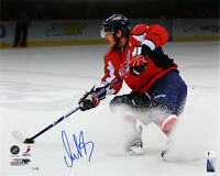 Capitals Alex Ovechkin Authentic Signed 16x20 Horizontal Photo BAS Witnessed
