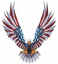 Sticker decal car bike bumper usa eagle tuning united states flag macbook