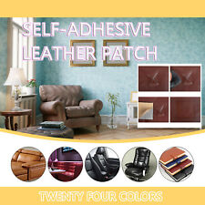 2PCS Self-adhesive leather 17-color repair patch leather special repair patch